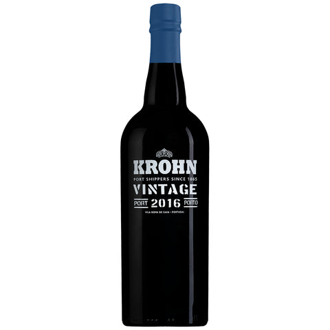 Krohn Vintage 2016 (Wooden Case) (6 Bottle Case)