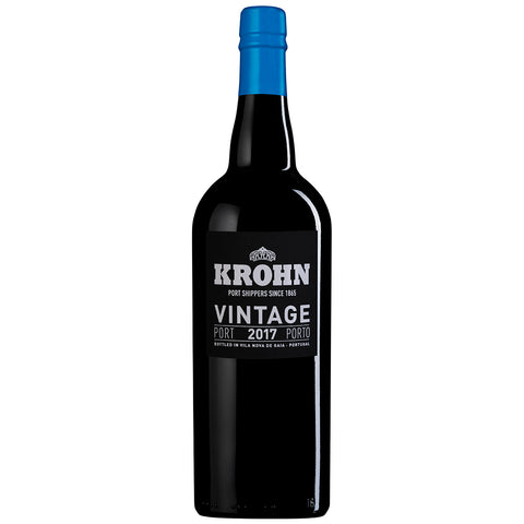 Krohn Vintage 2017 (Wooden Case) (6 Bottle Case)
