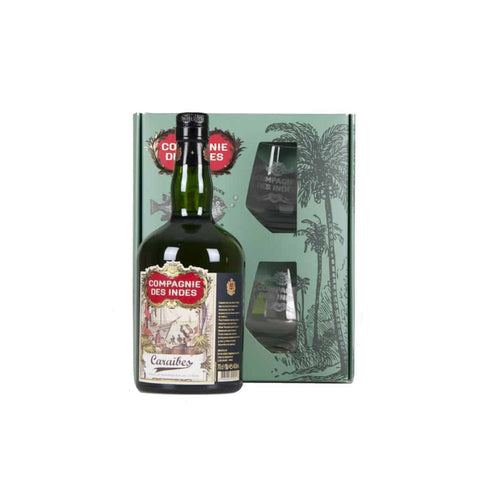 Compagnie des Indes 'Caraibes' Gold Rum Gift Pack