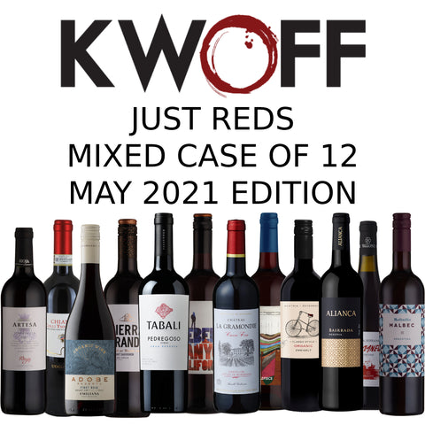 Just Reds 12 Bottle Mixed Case