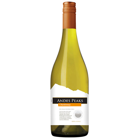 Andes Peaks Chardonnay (6 Bottle Case Deal)
