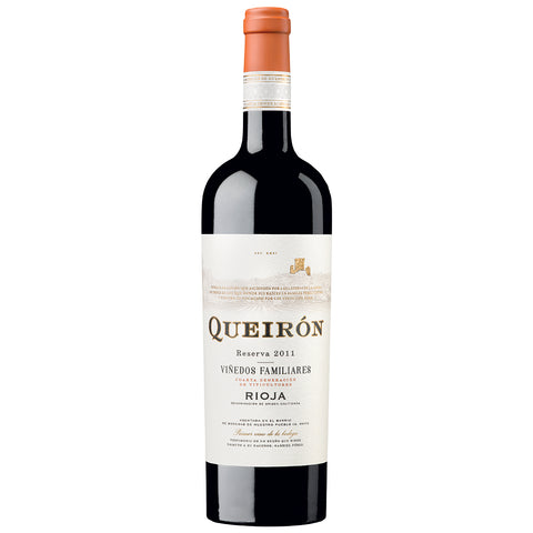 Queirón Reserva Vinedos Familiares Rioja (6 BOTTLE CASE DEAL)