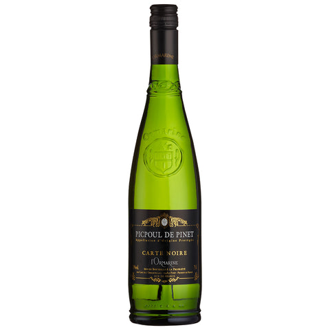 Cave de l'Ormarine 'Carte Noire', Picpoul de Pinet (6 BOTTLE CASE DEAL)