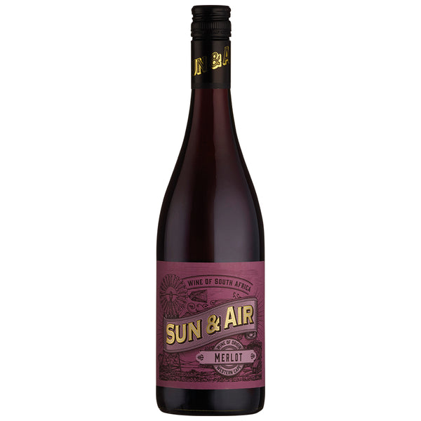 Sun & Air Merlot, Western Cape (6 BOTTLE CASE)