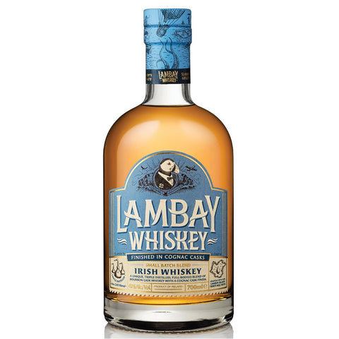 Lambay Irish Whiskey Small Batch Blend