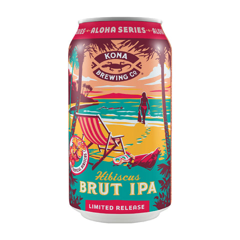 Kona Brewing Co. Hibiscus Brut IPA 355ml Can