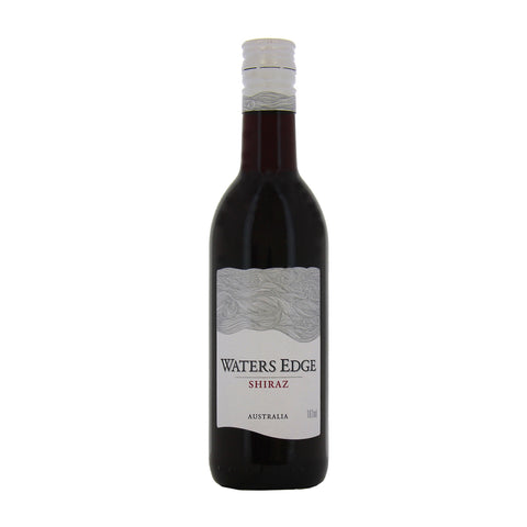 WATERS EDGE SHIRAZ SINGLE SERVE 187ML (24 bottle case)