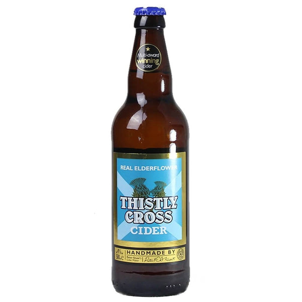 Thistly Cross Elderflower Cider 500ml