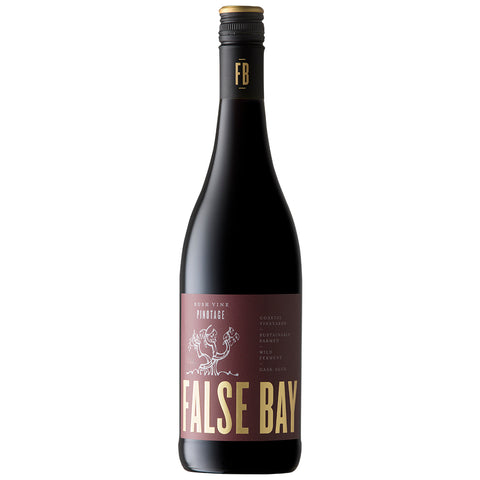 False Bay 'Bush Vine' Pinotage (6 Bottle Case)