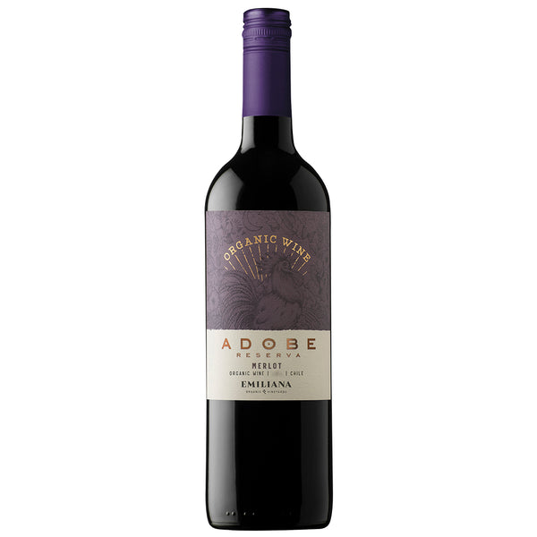 Adobe Reserva Merlot, Rapel Valley (6 Bottle Case)
