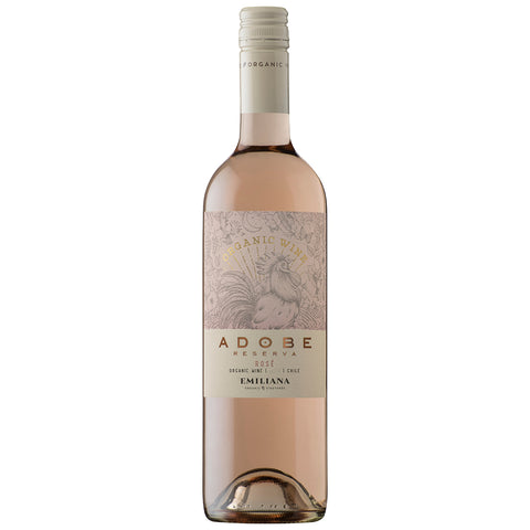 Adobe Reserva Rose, Rapel Valley Organic ( 6 Bottle Case)
