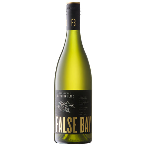 False Bay 'Windswept' Sauvignon Blanc, Coastal Region (6 Bottle Case)