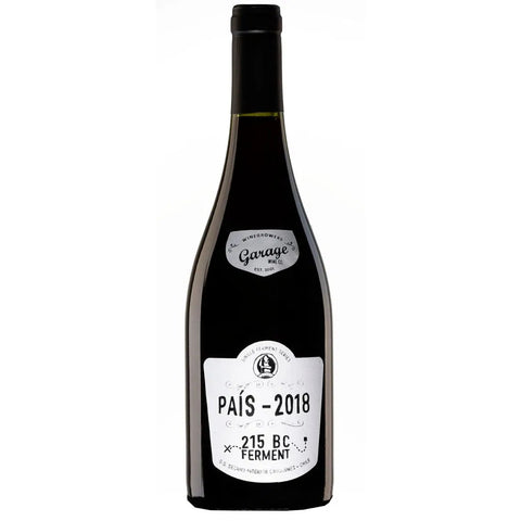 GARAGE WINE CO Single Ferment Pais
