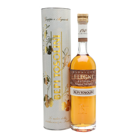 Tosolini Grappa Legni Barrique Grappa Rovere
