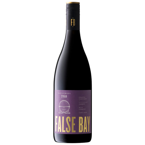 False Bay 'Old School' Syrah, Coastal Region (6 Bottle Case)