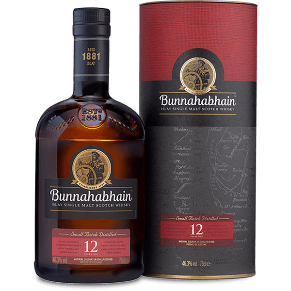 Bunnahabhain 12 Year Old Single Malt Scottish Whisky