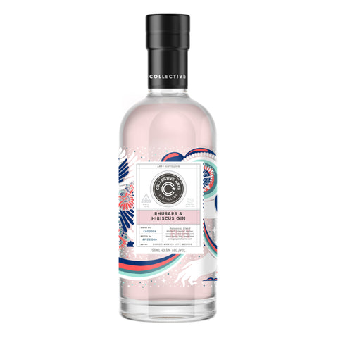 Collective Arts Rhubarb & Hibiscus Gin