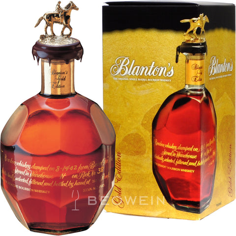 Blantons Single Barrel Bourbon Gold Edition