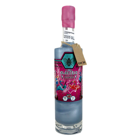 Zymurgorium Electric Flagingo Blue and Scottish Raspberry Gin Liqueur - Flamingo