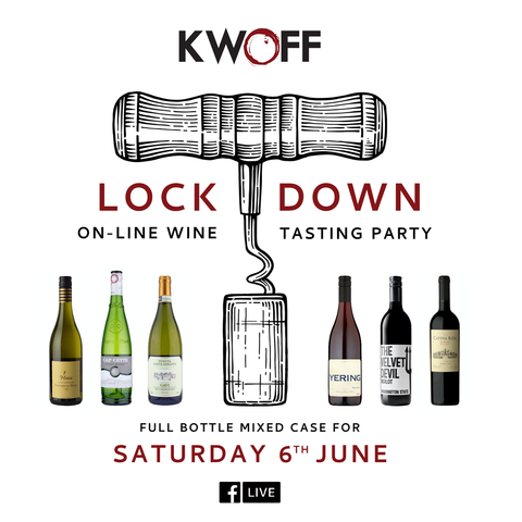 Lockdown At Home Tasting FULL BOTTLE Case - 6th June Facebook Live Tasting