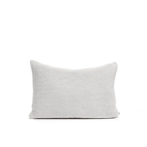 Recycled Denim Cushion Off White, By Mölle
