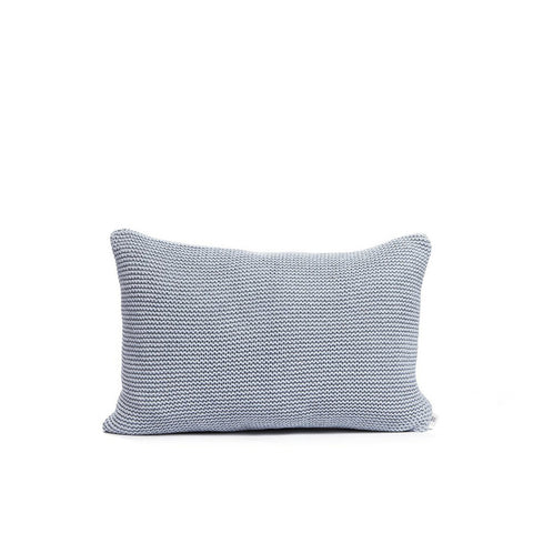 Recycled Denim Cushion Soft Blue, By Mölle