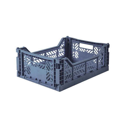 Folding Crate Cobalt Blue