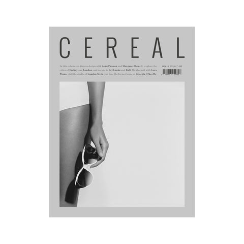 Cereal Volume 13, Cereal Magazine