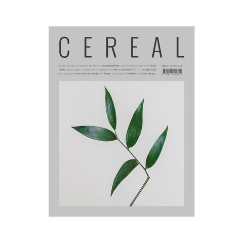 Cereal Volume 15, Cereal Magazine