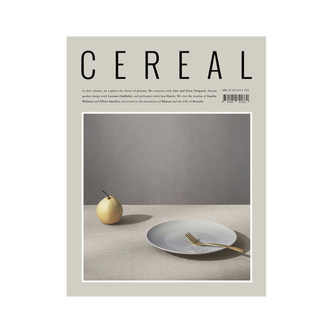 Cereal Volume 17, Cereal Magazine