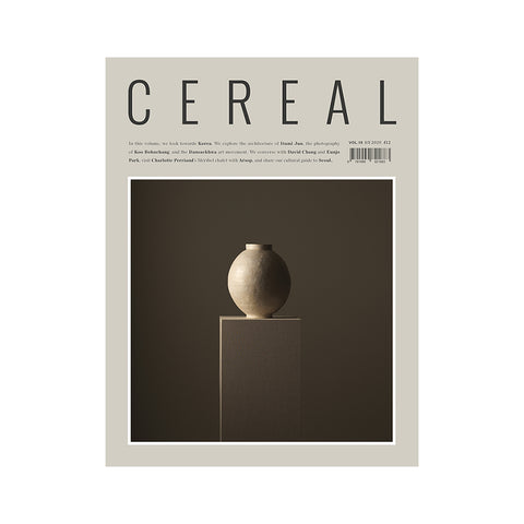 Cereal Volume 19, Cereal Magazine