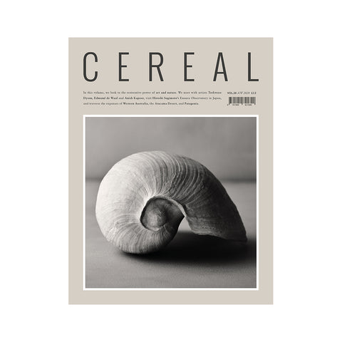 Cereal Volume 20, Cereal Magazine