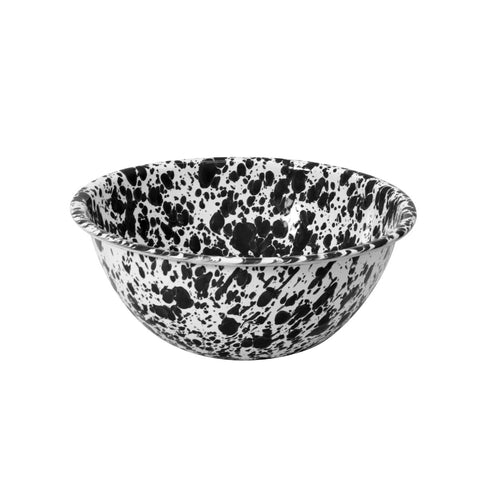 Splatter Enamelware Small Bowl, Crow Canyon