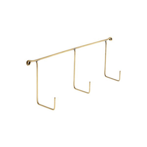 Brass Triple Hook, Fog Linen Work