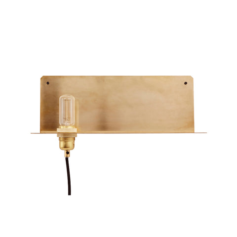 90° Wall Light Brass, Frama