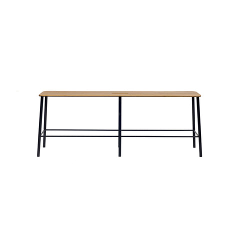 Adam Bench Oak Black, Frama Studio