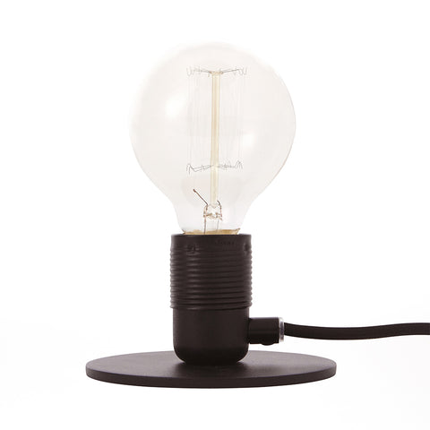 E27 Table Lamp Black, Frama