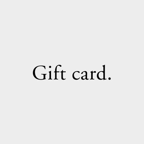 Gift Card, The Fine Store