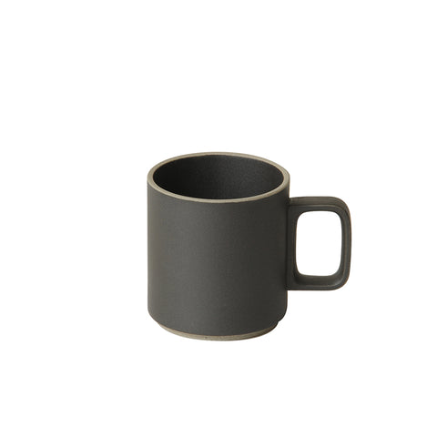 Hasami Mug Medium Black, Hasami Porcelain