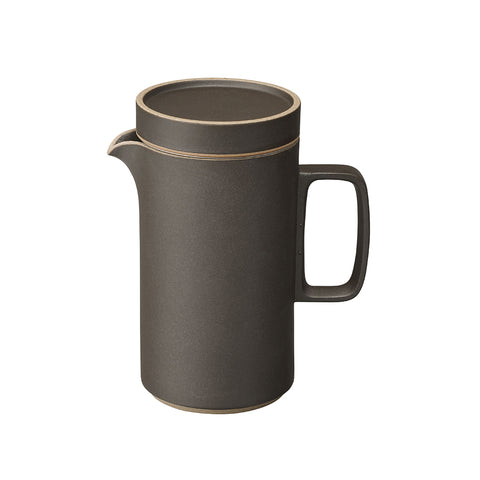 Hasami Tea Pot Tall Black, Hasami Porcelain