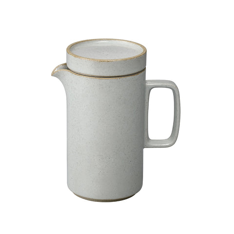 Hasami Tea Pot Tall Gloss Grey, Hasami Porcelain