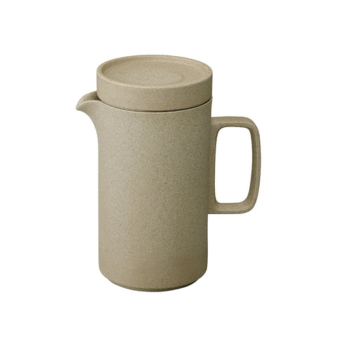 Hasami Tea Pot Tall Natural, Hasami Porcelain