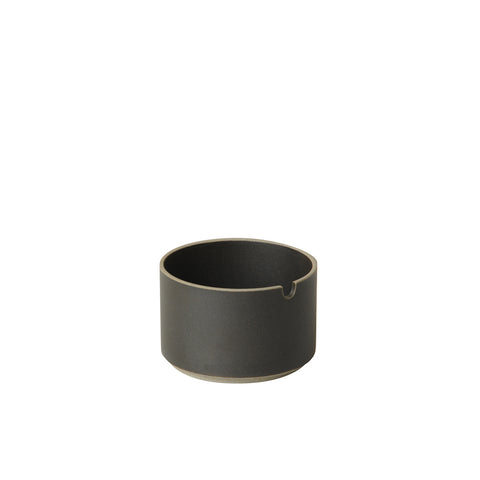 Hasami Sugar Pot Black, Hasami Porcelain