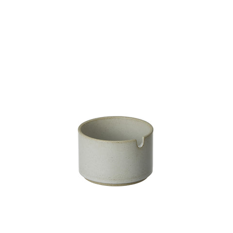 Hasami Sugar Pot Gloss Grey, Hasami Porcelain