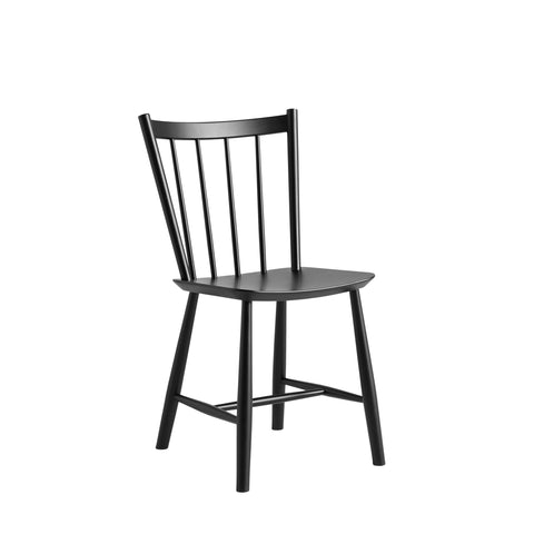J41 Chair Black Lacquered Beech, HAY