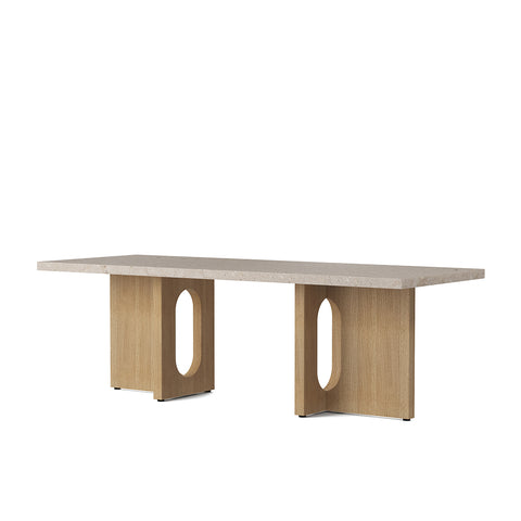 Androgyne Lounge Table Oak Kunis Breccia, Menu