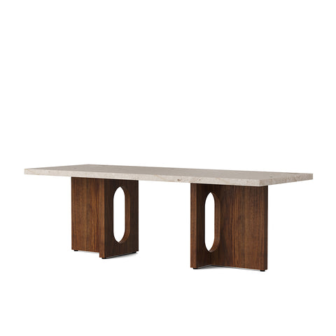 Androgyne Lounge Table Walnut, Menu
