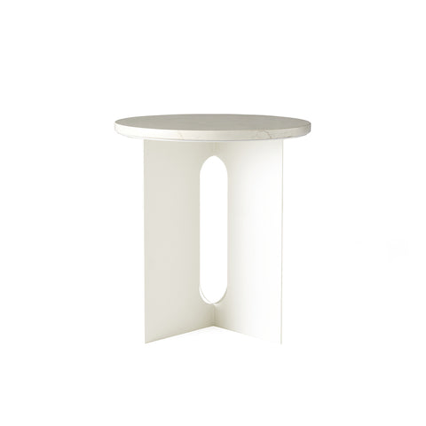 Androgyne Side Table Ivory, Menu