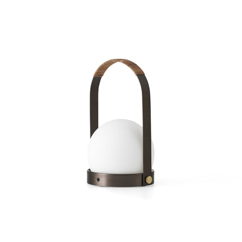Carrie Table Lamp Bronzed Brass, Menu