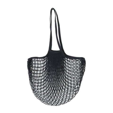 Net Bag With Long Handles Black, The Fine Store